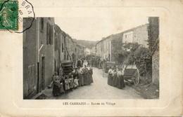 81 Cammazes - Entrée Du Village - Très Animée - Francia