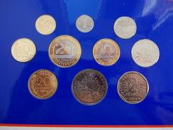 - FRANCE - Monnaie De Paris. Série BU 1994 - Coffret De 10 Monnaies - - France