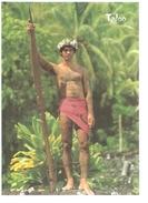 POLYNESIE FRANCAISE....TATOUAGES MARQUISIENS.....PHOTO SYLVAIN - Polinesia Francese