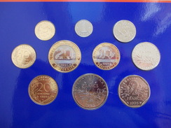 - FRANCE - Monnaie De Paris. Série BU 1995 - Coffret De 10 Monnaies - - France