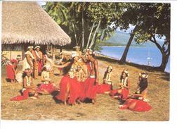TAHITI.....GROUPE DE DANSE ...PHOTO E CHRISTIAN - Tahiti
