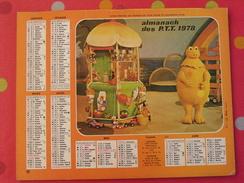 Almanach Des PTT. 1978. Mayenne Laval. Calendrier Poste, Postes Télégraphes. Casimir Léonard L'ile Aux Enfants - Calendriers