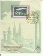BLOCK  --  GUTENBERGOVA IZLOZBA  HRVATSKOG FILAT. DRUSTVA   --  ZAGREB 1940. - 1931-1941 Kingdom Of Yugoslavia