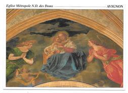 84 - AVIGNON - Eglise Métropole N.D. Des Doms - Reine Des Anges Deveria - Ed. Sté PEC - 1996 - Avignon