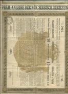 OBLIGATION DE 10 FRANCS EN OR  --  SERBIA 1888 - Ohne Zuordnung