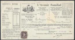 """OCB Nr 319 Albert I Perfin Perfo """" A.F. """" Avenir Familial - 1909-34"""