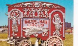 Wisconsin Baraboo Walter L Main Bandorgan Wagon Circus World Museum - Sonstige