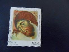 ITALIA 2002  CIMABUE 2,58  USATO - 1946-.. République