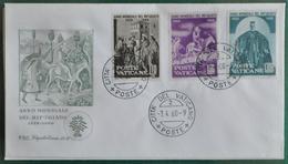 """VATICANO FDC 1960 """" ANNO MONDIALE DEL RIFUGIATO 1959-1960 """" - FDC"""