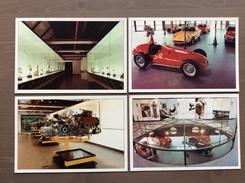 Serie Di 4 Cartoline Galleria Ferrari Con Annullo Sul Retro Trofeo Enzo Ferrari Int. Giov. Calcio Maranello 1-4-1991 - Grand Prix / F1