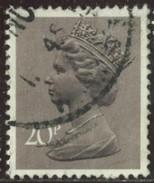 GB Yv. N°785 - 20p Brun-lilas - Oblitéré - 1952-.... (Elisabetta II)