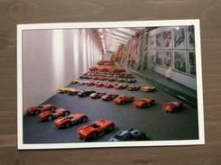Cartolina Numerata Galleria Ferrari Con Annullo Sul Retro Trofeo Enzo Ferrari Int. Giov. Calcio Maranello 1-4-1991 - Grand Prix / F1