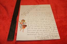 Lettre D'une Fille De Poilus Pour L'année 1916 - 1914-18