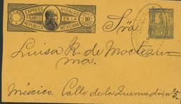 Ganzsache Ramon Riveroll Francocuvert 5 Centavos 1936  -  B030 - Mexiko