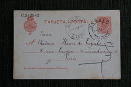 Entier Postal - De BESALU à PARIS - 1850-1931