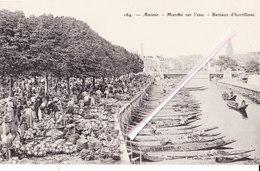 AMIENS - Marché Sur L'eau - Bateaux D'hortillons - Amiens