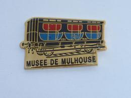 Pin's WAGON DU MUSEE DE MULHOUSE - TGV