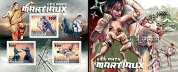 Togo 2012, Martial Arts, Kung Fu, Sumo, Judo, Takewoondo, 3val In BF +BF