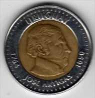 Uruguay : 10 Pesos Uruguayos 2000 BIMETAL - Uruguay