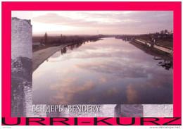 TRANSNISTRIA 2008 Bendery River Dniester View From Bridge Postcard Card Mint - Moldova