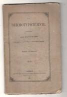 """La Dermotypotemnie : étude Sur Quelques Livres """"cum Figuris Et Characteribus Ex Nulla Materia Compositis"""" IMPRIMERIE - Livres, BD, Revues"""