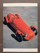 Cartolina Ferrari 166/Spyder Corsa Con Annullo Sul Retro Trofeo Enzo Ferrari Int. Giov. Calcio Maranello 1-4-1991 - Grand Prix / F1