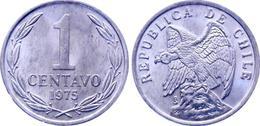 Chile - 1975 - 1 Centavo - KM 203 - Unc - Chile
