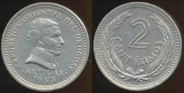 Uruguay - 1953 - 2 Centesimos - KM 33 - XF - Uruguay
