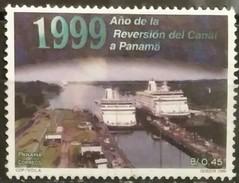 PANAMA 1999 Return Of Control Of Panama Canal To Panama. USADO - USED. - Panamá
