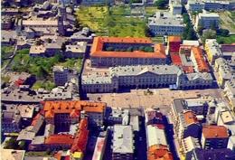 Aosta - Piazza E. Chanoux - Il Municipio - Sulla Sinistra La Cattedrale - 149 - Formato Grande Non Viaggiata - E - Aosta