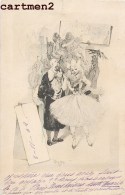 ILLUSTRATEUR LEON DAX CARNAVAL FETE COMEDIEN STYLE VIENNOISE ART NOUVEAU CLOWN 1900 - Illustrateurs & Photographes