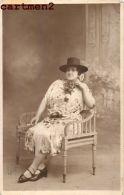 2 CARTE PHOTO: CABARET DE MARSEILLE ARTISTE DE THEATRE VEDETTE COSTUME PHOTOGRAPHE MATHIEU BOULEVARD BAILLE - Cabarets