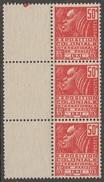 France 1931 N° 272 NMH Type I Exposition Internationale De Paris 3 Avec Interpanneau  (D18) - France