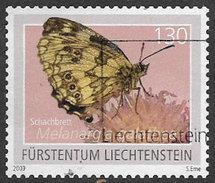 Liechtenstein 2009 Butterflies 1f.30 Good/fine Used [31/28237/ND]