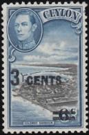 CEYLON - Scott #291 Columbo Harbour (*) / Mint H Stamp - Ceylon (...-1947)