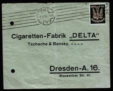 A4399) DR Infla Brief Von Kiel 8.6.23 Nach Dresden Mit EF Mi.237 - Deutschland