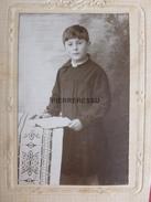 MAURICE CHEVALIER ENFANT CDV  PHOTO BERAUD - Personnes Identifiées