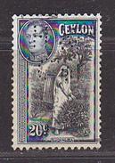 CEYLAN - Perforé-Perfin-Perforés-Perfins -  H ? / Co     - - Ceylan (...-1947)