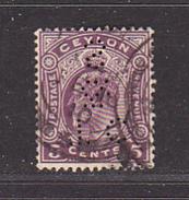 CEYLAN - Perforé-Perfin-Perforés-Perfins -  T C / & / S    - - Ceylan (...-1947)