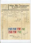 Turnhout : Firma Het Snoeksken : Groothandel  ( Zie Scan Voor Detail  ) 1943 :  Speelgoed - Visgerief ....... - Non Classificati