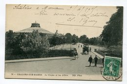CPA  51  : CHALONS   Cirque  1915   A  VOIR  !!!!!!! - Châlons-sur-Marne