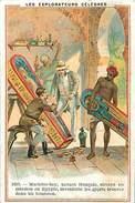 PIE-16-P - 3543 : LES EXPLORATEURS CELEBRES. EGYPTE. MARIETTE-BEY. ARCHEOLOGIE. BLANCHISSERIE. LINGE. SODEX  TIM. - Altri