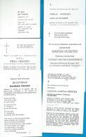 Bidprentjes   Wortel    6   Stuks   Horsten - Images Religieuses