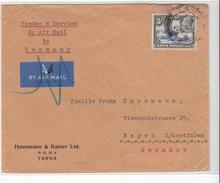 Kenya Uganda Tanganyika / Airmail / Germany - Kenya, Uganda & Tanganyika