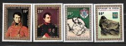 PA - 1971 - N° 104 à 107  **MNH - 200 Ans Naisance De Napoléon 1° - Senegal (1960-...)