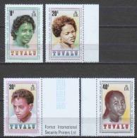 Tuvalu 1979 Mi 112-115 MNH CHILDREN - Tuvalu