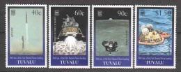 Tuvalu 1999 Mi 832-835 MNH SPACE