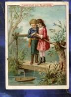 Chromo Chocolat Planteur Enfant Children Maquette Bateau Vapeur Steam Boat Model - Chocolat