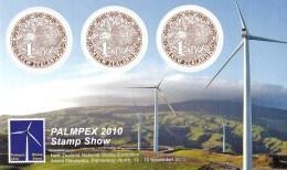 New Zealand 2010 Palmpex National Stamp Exhibition Minisheet MNH - New Zealand