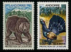 ANDORRE FRANCAIS - ANIMAUX - YT 210 Et 211 ** - 2 TIMBRES NEUFS ** - Andorre Français